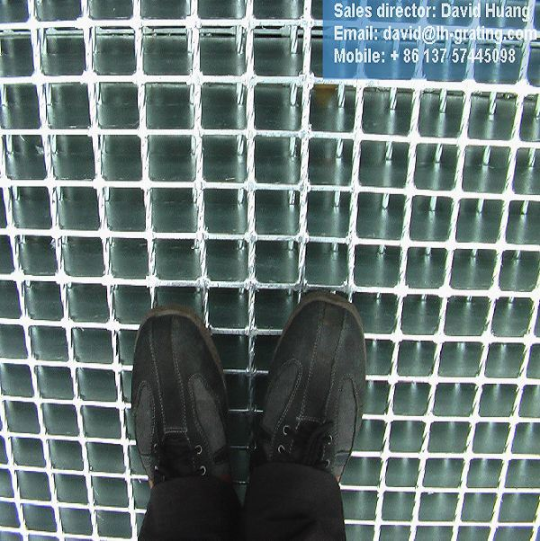 Hot DIP Galvanized Steel Floor Grating for Platforms Trench pictures & photos