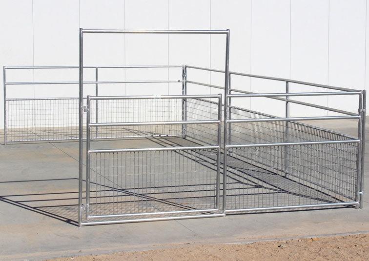 China Welded Wire Sheep Goat Pens Livestock Panel - China Sheep ...