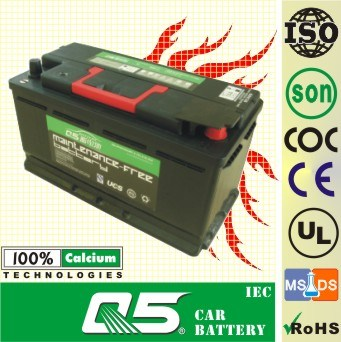 12V100AH, MF Battery, Can Equip Battery Master Switch, Also Had Prolonged Effect on Life.