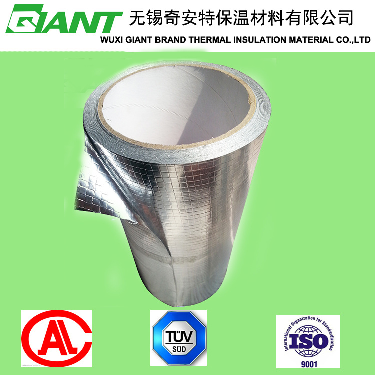 Heat Insulation Material of Double Side Aluminum Foil Laminated Woven Cloth pictures & photos