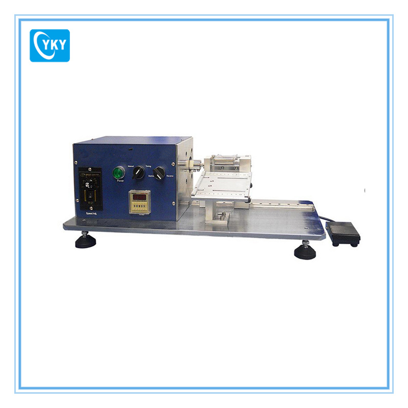 Semi Automatic Winding Machine for Electrodes of Cylinder Cell