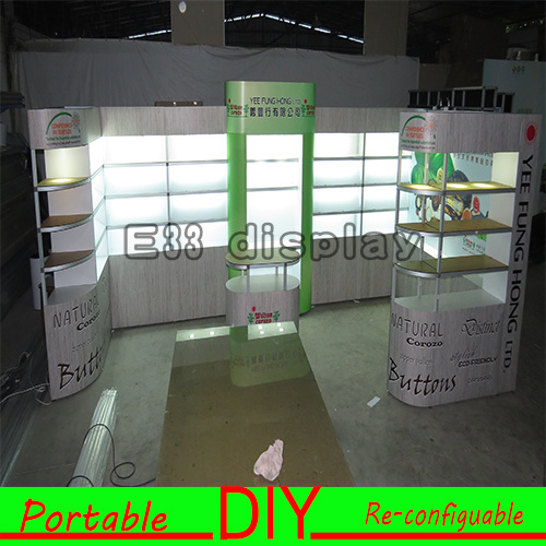 China 36m Portable Exhibition Stand Trade Show Booth Display
