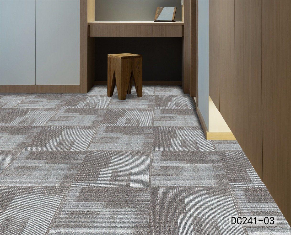 PVC Carpet Tiles for Exhibition Stands