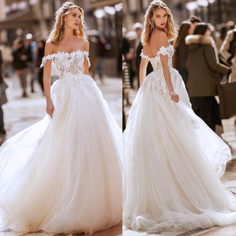 Off Shoulder Wedding Ball Gown 64 Off Tajpalace Net