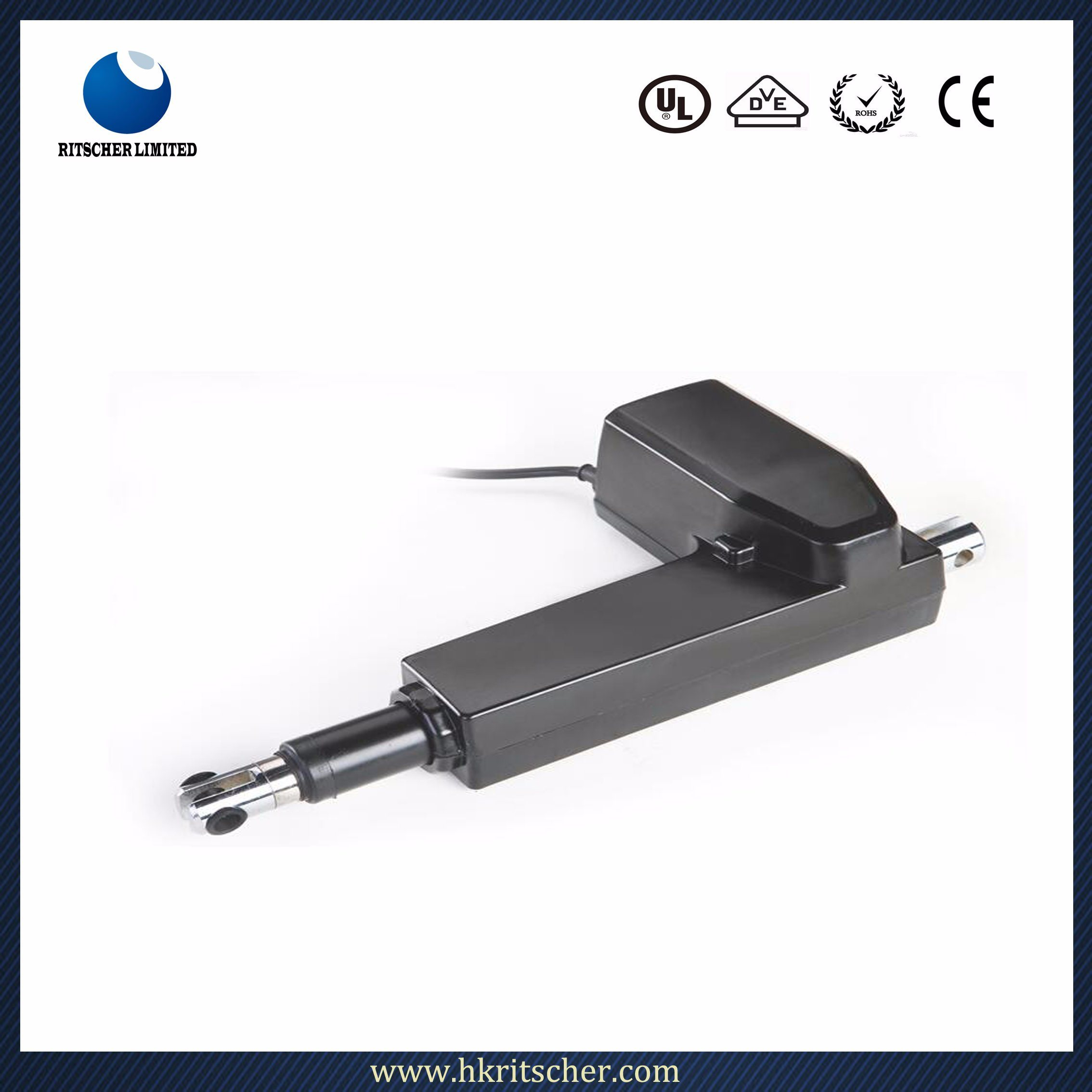 [Hot Item] 6000n Electric Linear Actuator for Hospital Medical Bed on