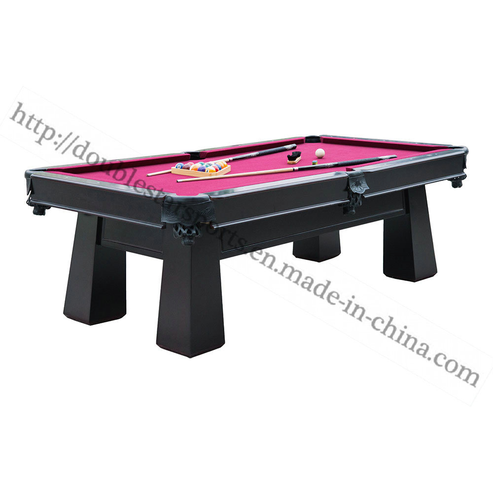 China Huizhou Double Star MDF Pool Table Strong Billiard Table - Star pool table