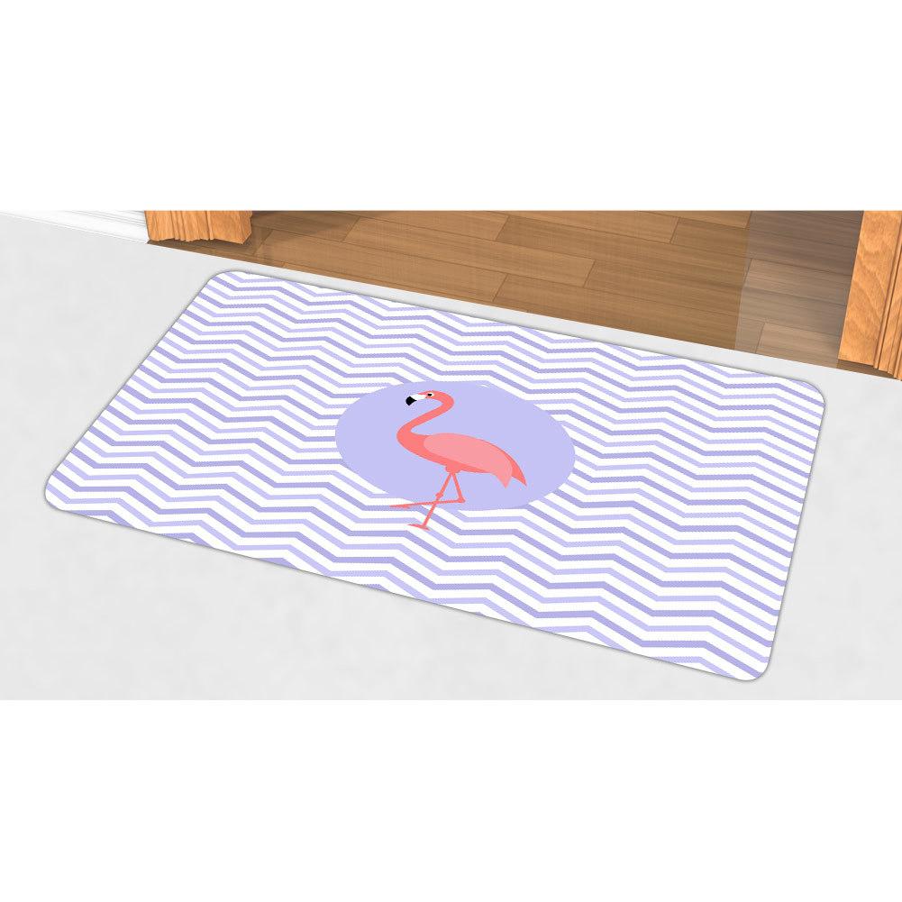 China Animal Print Christmas Doormats Outdoor Indoor Flamingo