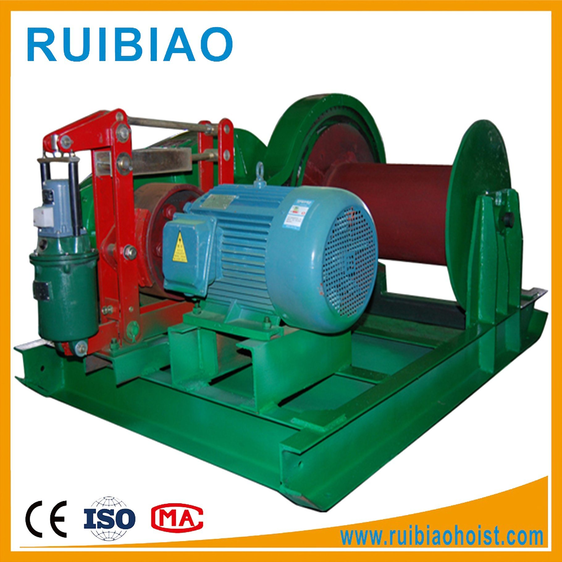 China Wire Rope Electric Winch with Slow Speed - China Power Winch ...