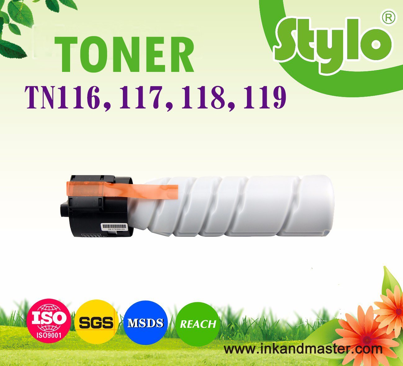 Tn-118 Tn-119 Printer Toner Cartridge
