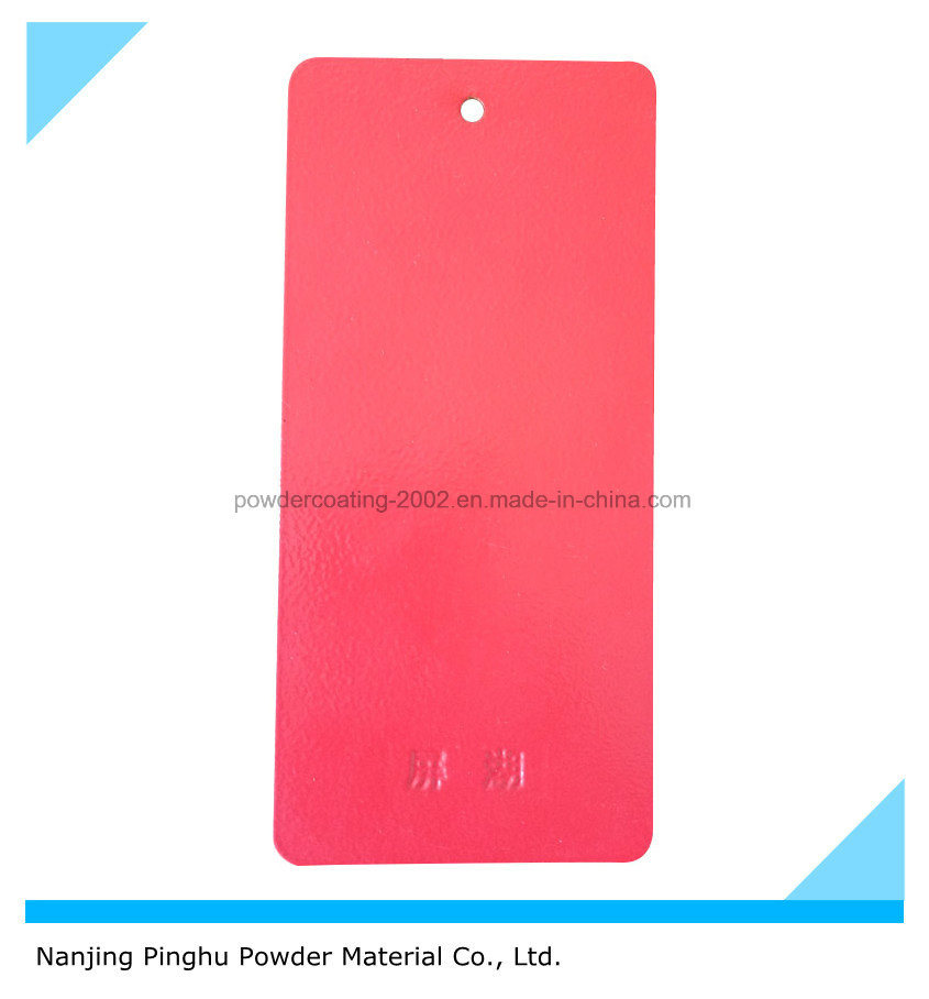 Ral 3020 Red Powder Coating for Outdoor Use with Orange-Peel Texture
