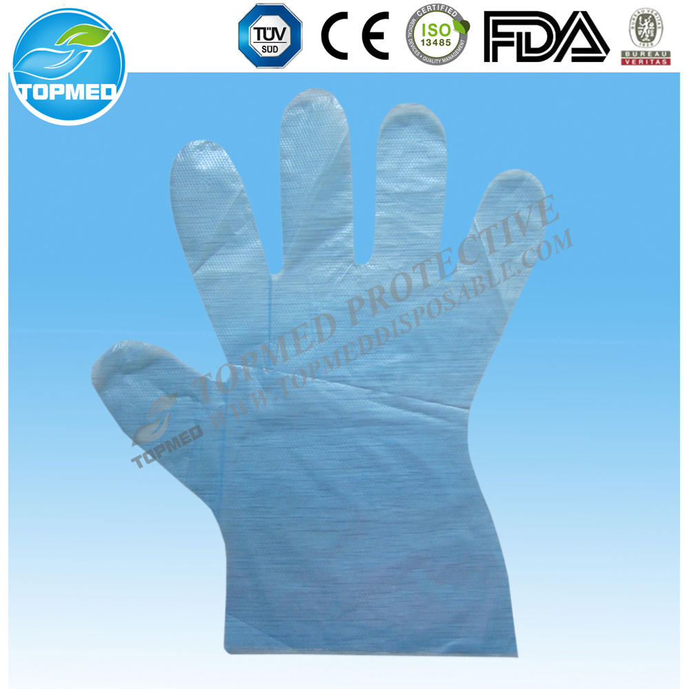 Transparent Disposable Plastic Gloves, LDPE Gloves pictures & photos