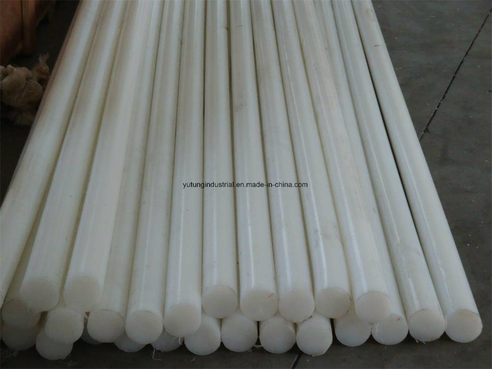 Extruded Nylon Rod Plastic Conveyor Parts UHMWPE, POM