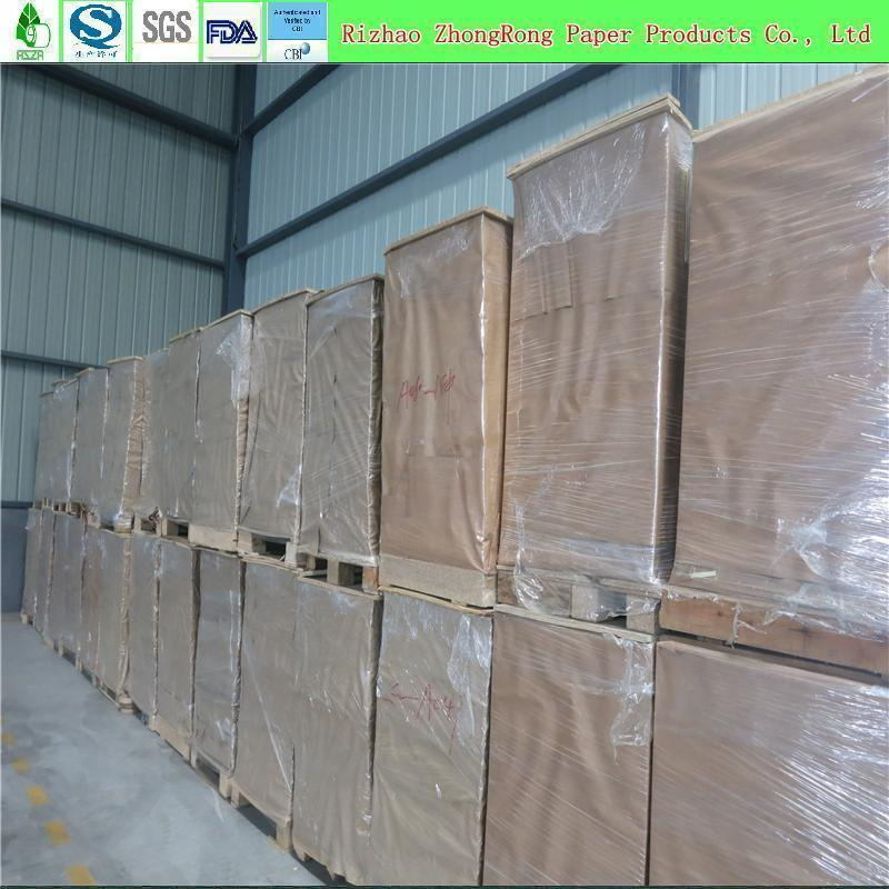 Food Grade Double Side PE Coated Paper in Roll or in Sheet pictures & photos