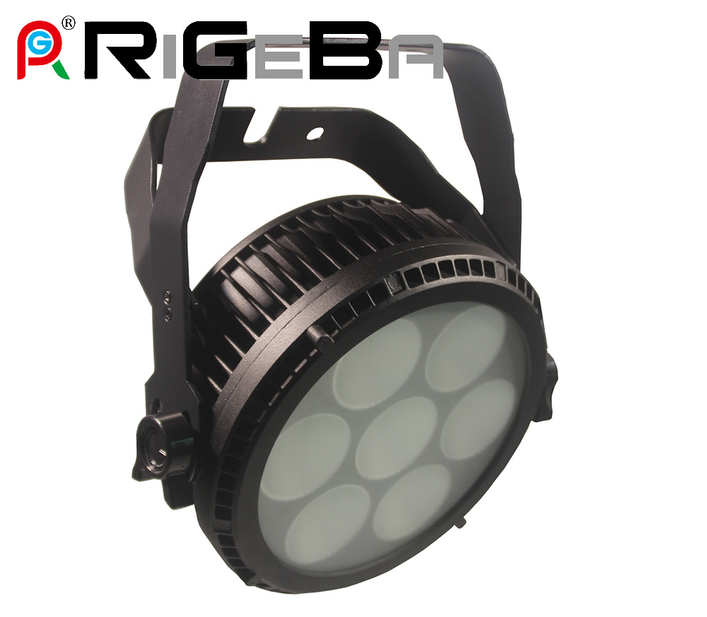 Professional Stage Light Razor P7 PAR 64 7 LED 25 W Rgbwy 5 in 1 Outdoor High Power LED PAR