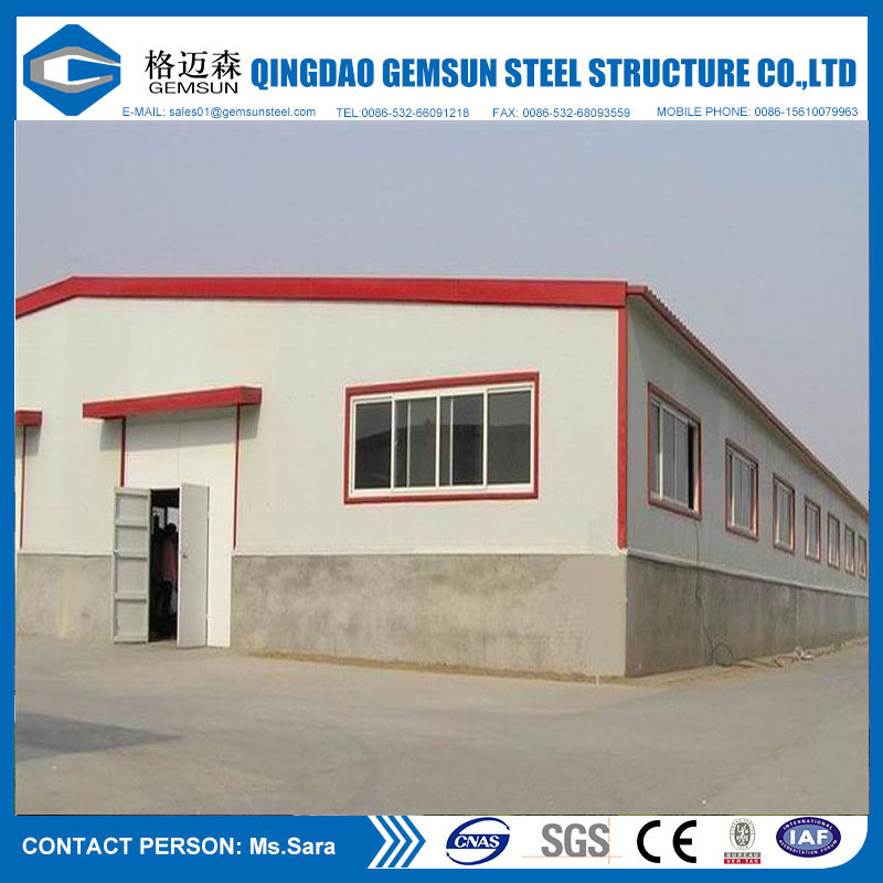 Ce Certification Prefabricated Steel Building Steel Workshop Fabrications