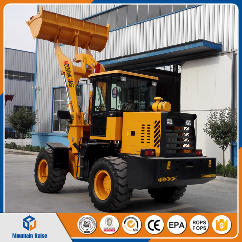 Chinese Manufacturer Big Wheels Wheel Loader with Different Work Attachments pictures & photos