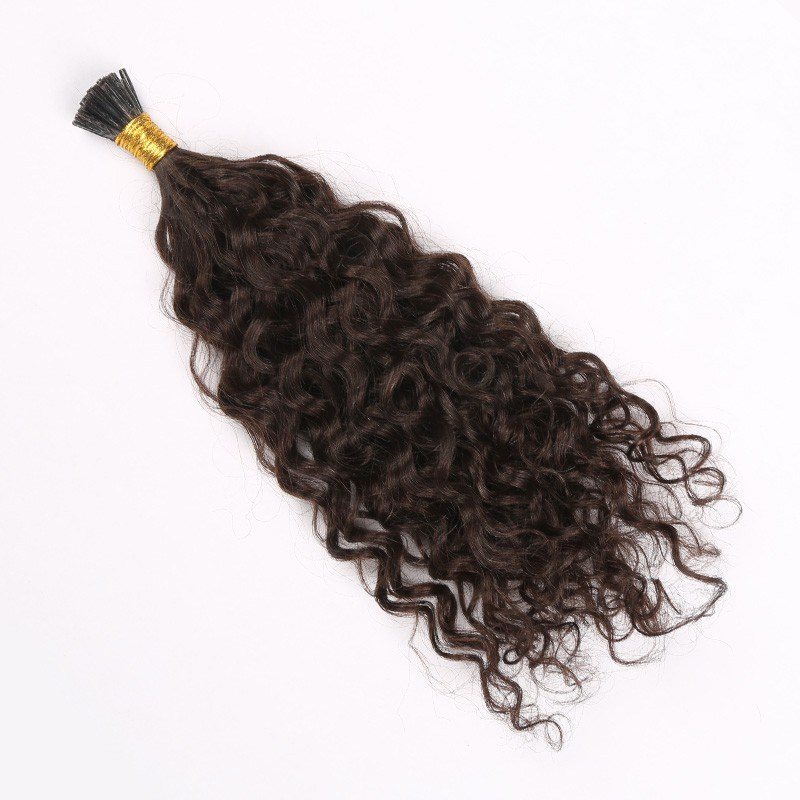 China Pre Bonded Hair Extension Stick Tip I Tip Hair Extension Wavy