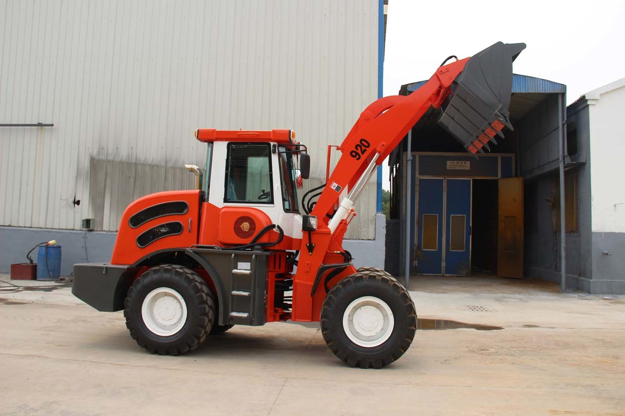Real 2 Ton Front End Loader Sale with Pallet Fork pictures & photos