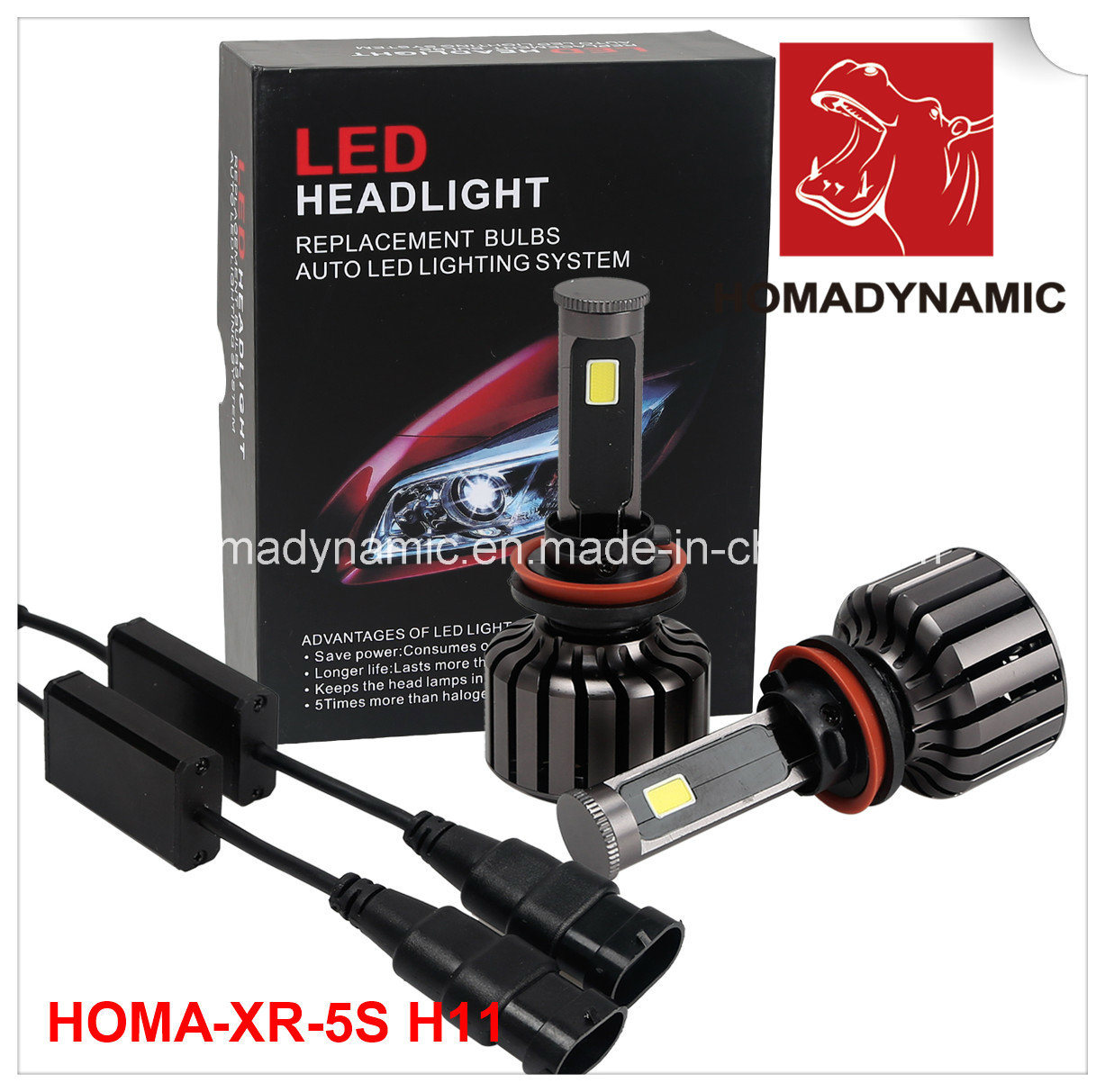 China High Power Cob Car Motorcycle Led Headlight Bulb 2500lum Wiring From Bestselling H11 Light