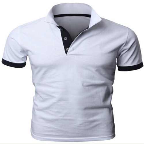 Custom 100% Cotton Mens Polo Shirt