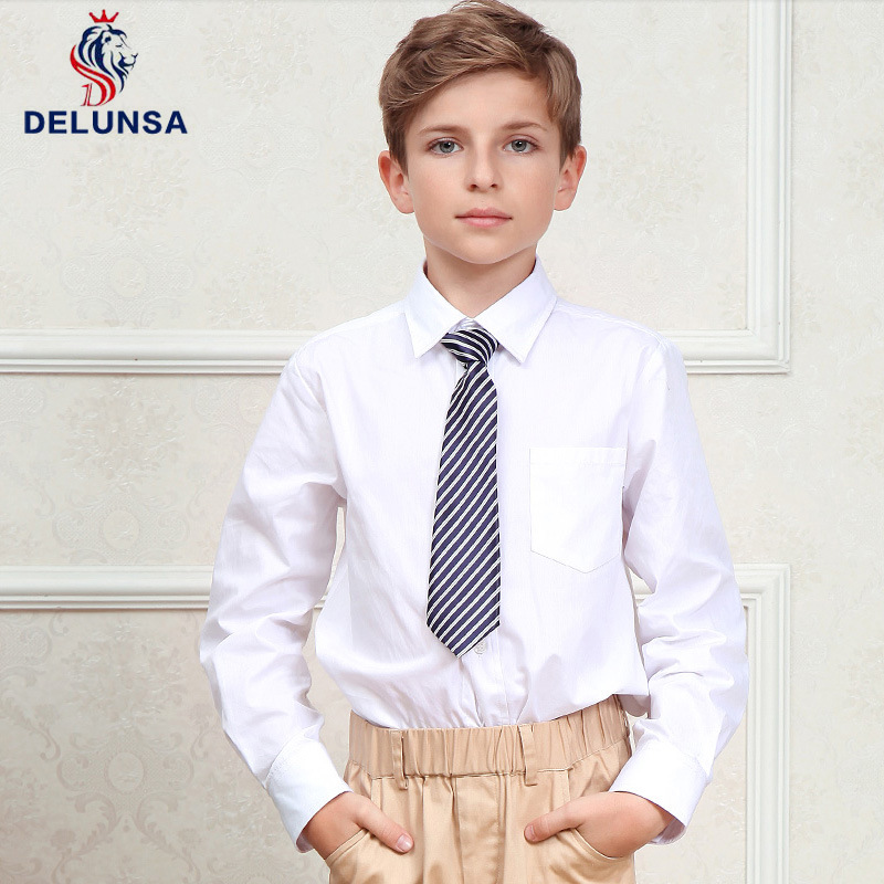 International Cheap White School Polo Shirt School Uniform Shirt