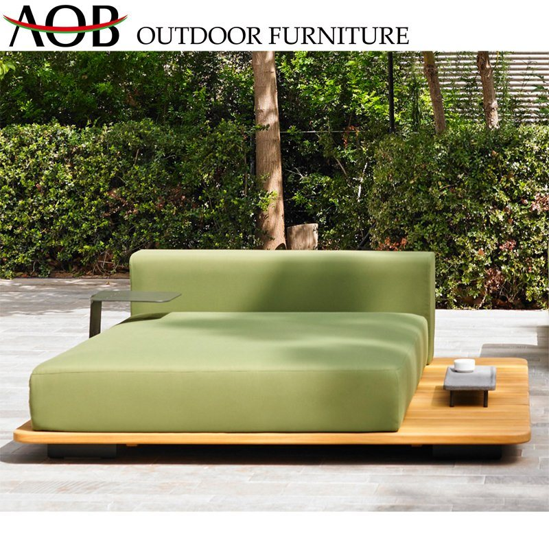China Outdoor Modern Upholstery Fabric, Double Chaise Lounge Outdoor