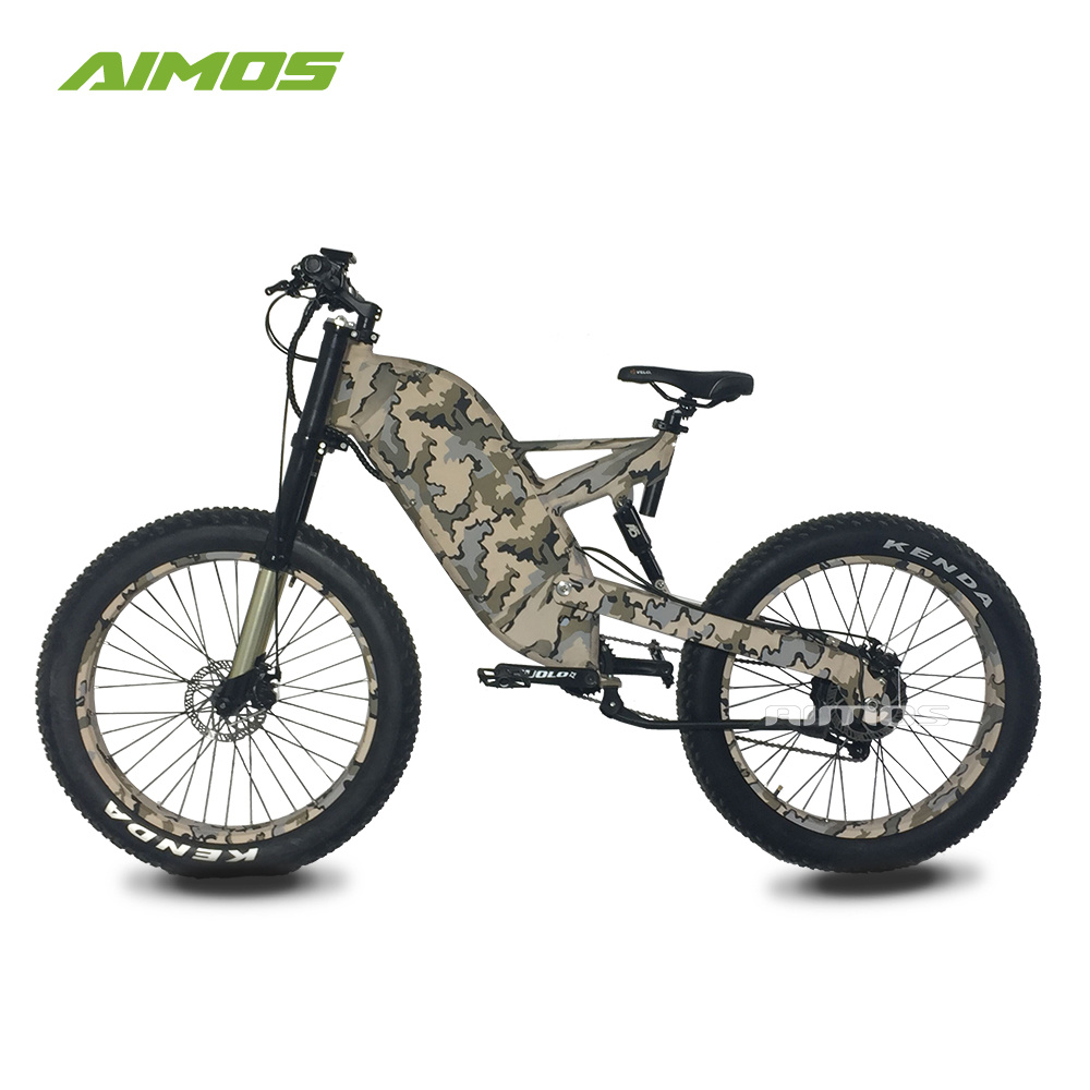 Electric Bikes Trek Bikes >> China Full Suspension Mountain Fat Tire Electric Trek Bike