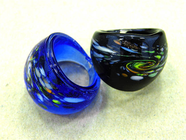 China Glass Ring Fashion Jewelry Rings Nr0053 China