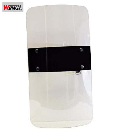 5mm Thickness Anti-Riot Shield Polycarbonate Safety Device For Police Tactical