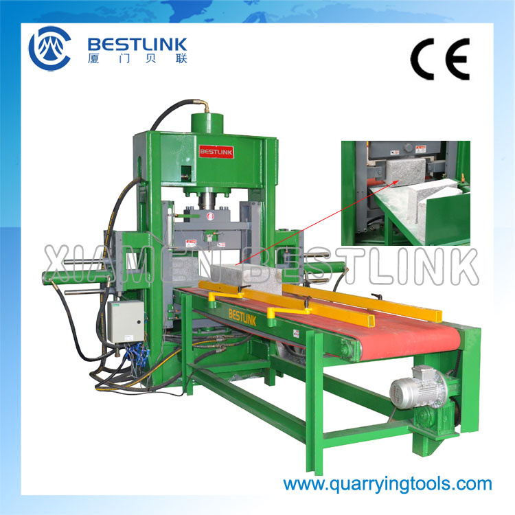 Hydraulic Stone Splitting /Cutting Machine for Curb/Kerb Stone pictures & photos
