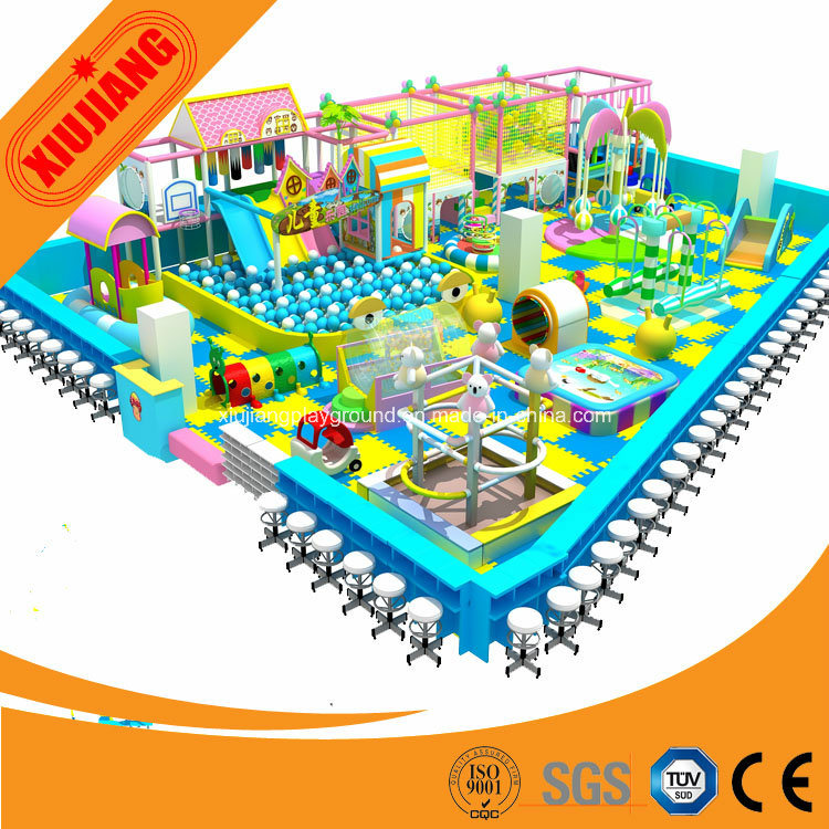 China Amusement Park Indoor Naughty Castle Kids Daycare Playground
