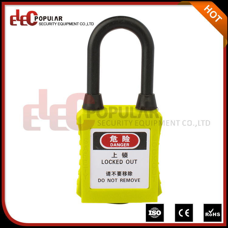 Made in China Short Shackle 38mm Dustproof Insulation ABS Safety Padlocks