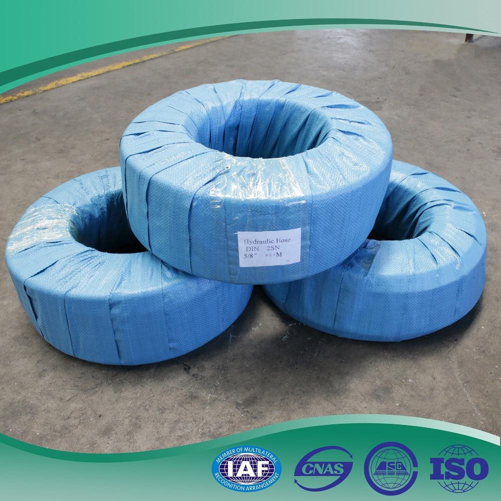China Steel Wire Braid En857 2sc High Pressure Hydraulic Hose Photos ...
