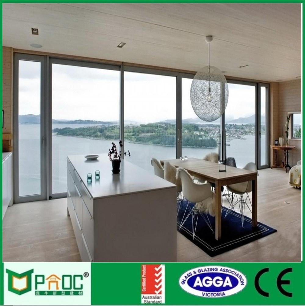 China Australian Standard Aluminum Sliding Glass Doorsaluminium