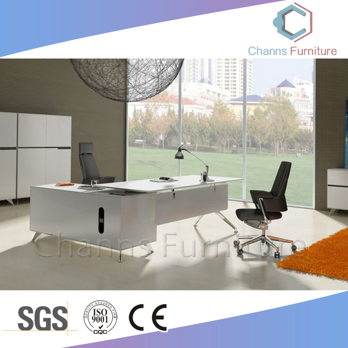 Simple Design Office Table Wooden Metal Executive Desk With Drawer Cas Md1842