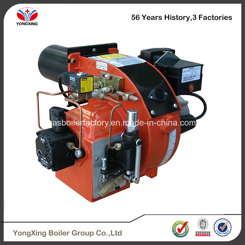 China High Efficiency Steam Boiler with Gas Oil Dual Fuel Burners ...