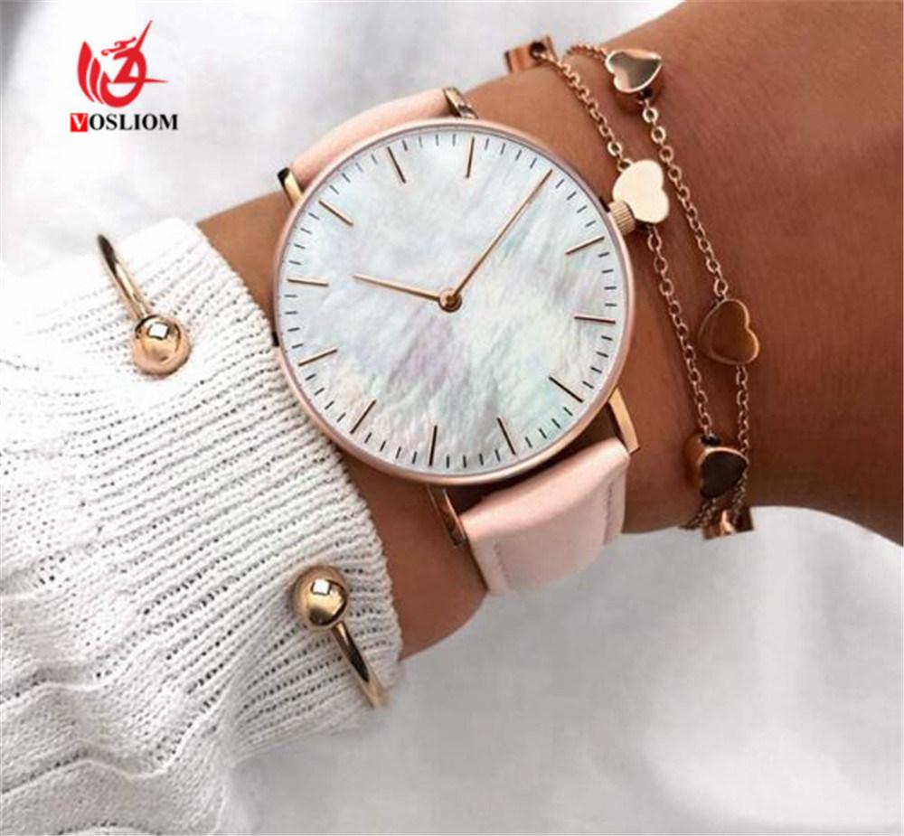 c083e0d04 Promotional New Design Ladies Watch Quartz Custom Logo Charming Vogue Women  Wrist Watch Fashion Watches#V839