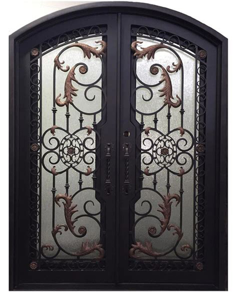China Custom Safety Metal Door Home Used Iron Main Entry