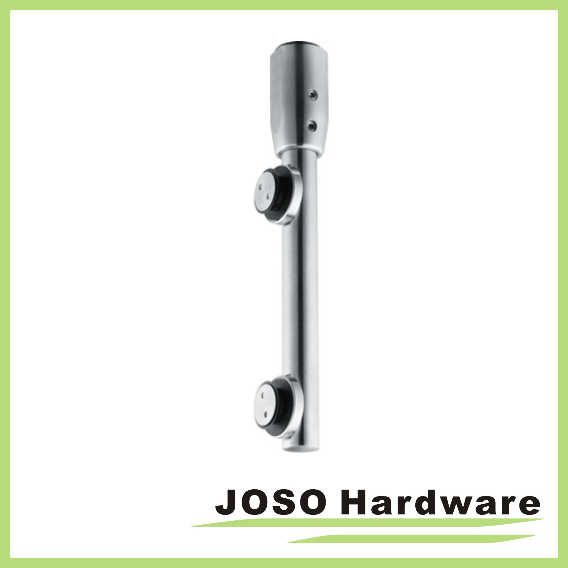 China Glass Door Hardware Pivot Pole With Single Point Fixing Eb004