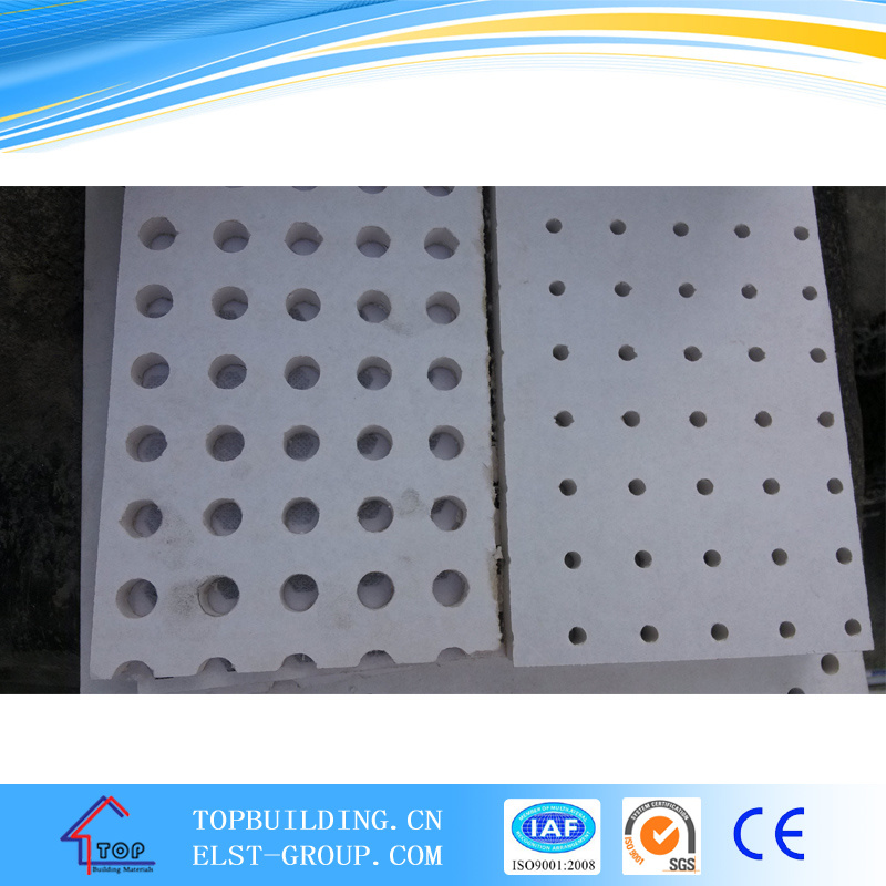 China Perforated Gypsum Ceiling Tileperforated Ceiling Board