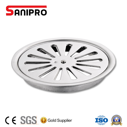 Ss304/201 Square Pop up Stainless Steel Floor Trap Drain