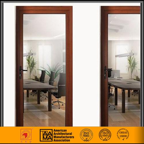 China Single Hung Aluminum Framed Glass Door China Outward Glass