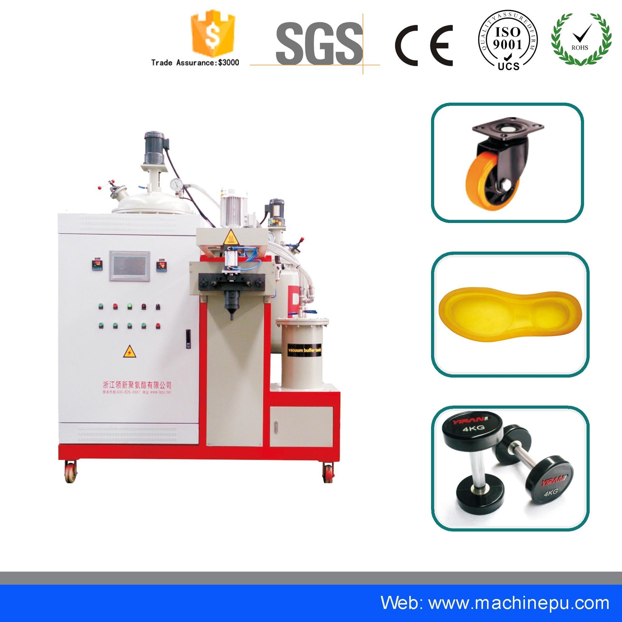 [Hot Item] High Temperature Bear Paw Making Polyurethane Elastomer Vacuum  Casting Machine