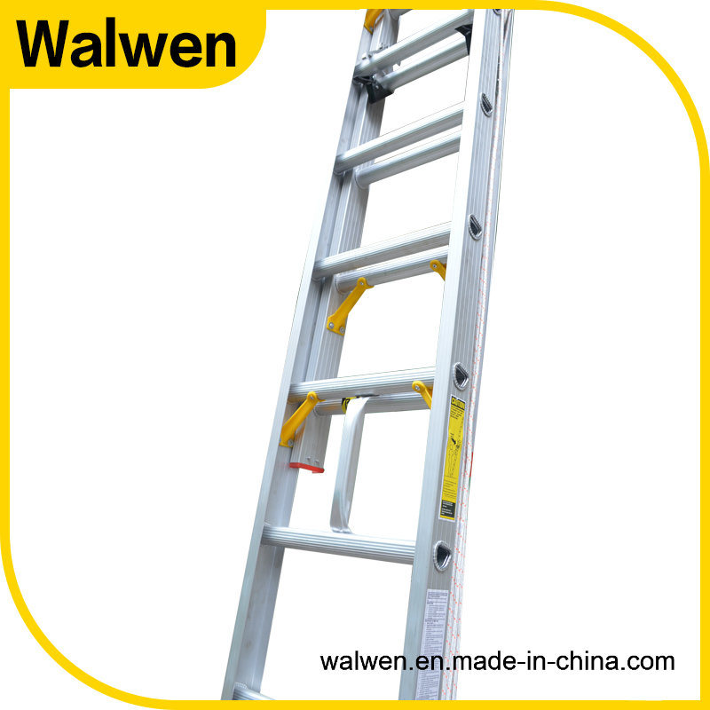 China Supplier Multi-Functional Aluminum Telescopic Folding Ladder