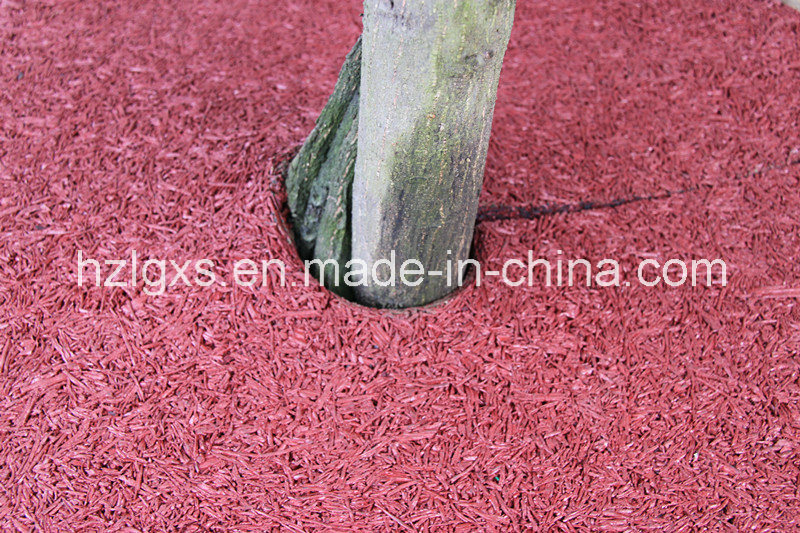 China Recyled Rubber Wire Mulch Tree Ring - China Rubber Tree Rings ...