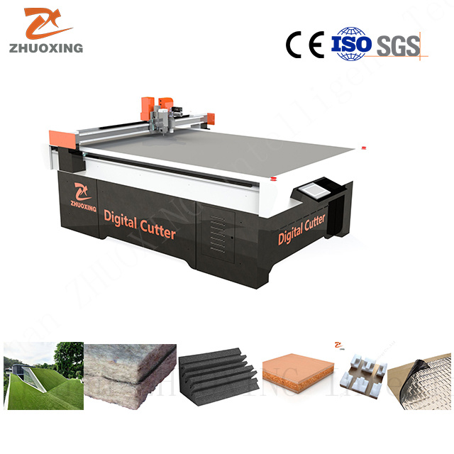 [Hot Item] Noise Sound Insulation Heat Preservation Thermal Insulation  Material Cutting Machine CNC Digital Cutting Plotter with Cutter Ce Factory
