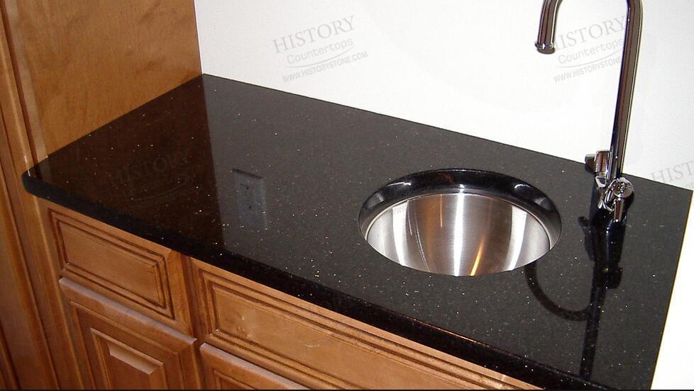 China Price Polished Imitation Granite Countertops Kitchen Top Stone Countertop