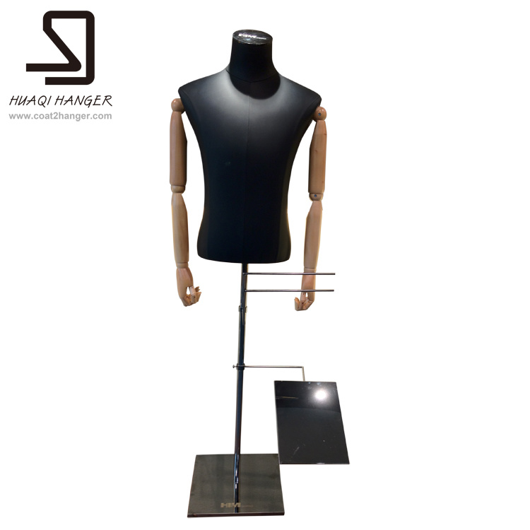 Male Mannequin Half Body, Male Half Torso Mannequines for Window Display