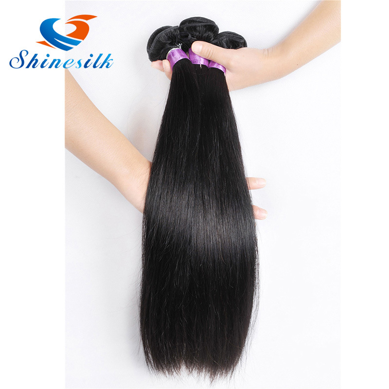China Kyra Hair Peruvian Straight Hair Weave Natural Color Human