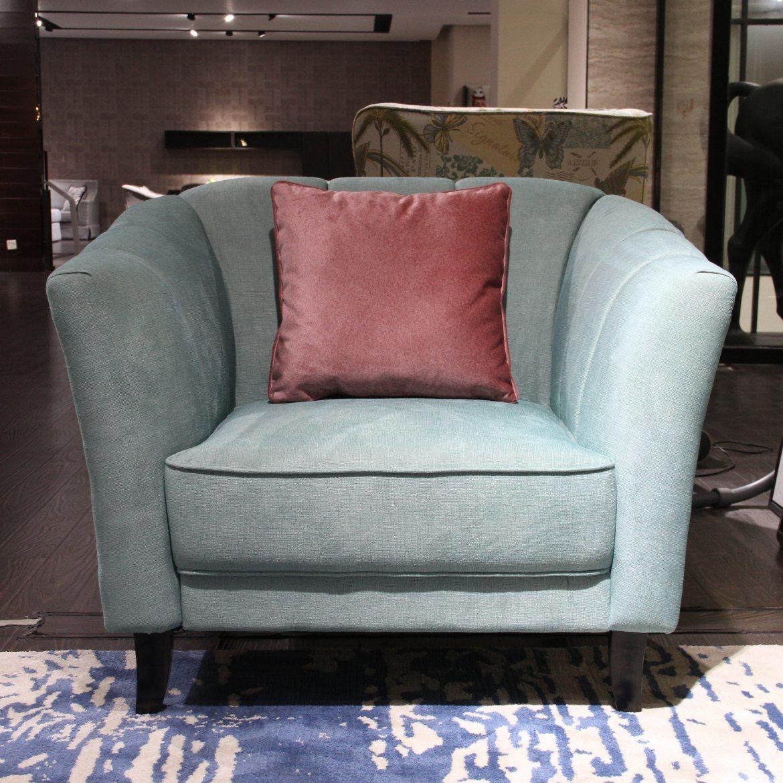 China green one seat fabric sofa for living room china furniture sofa fabric 123 sofa